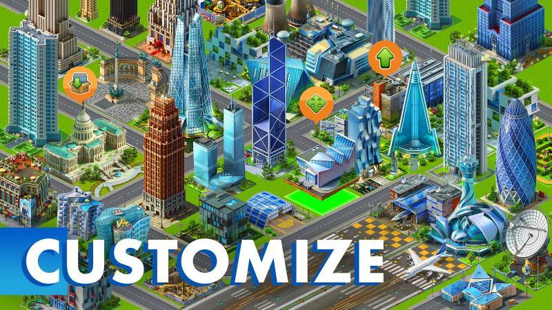 скачать игру построй город с бесконечными деньгами