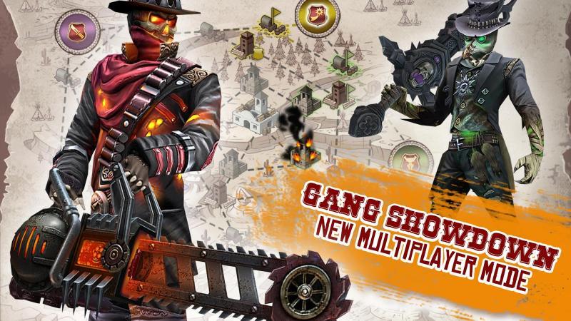Six-Guns: Confronto de Gangues Screenshot