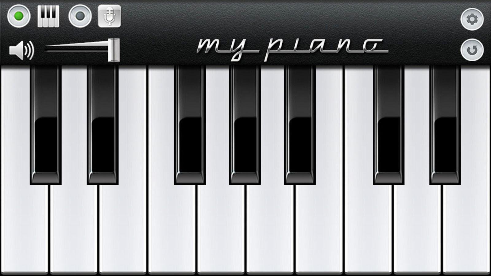 Пианино звук скачать