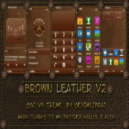 Brown Leather by sevimlibrad