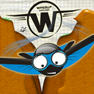 Wingsuit Stickman