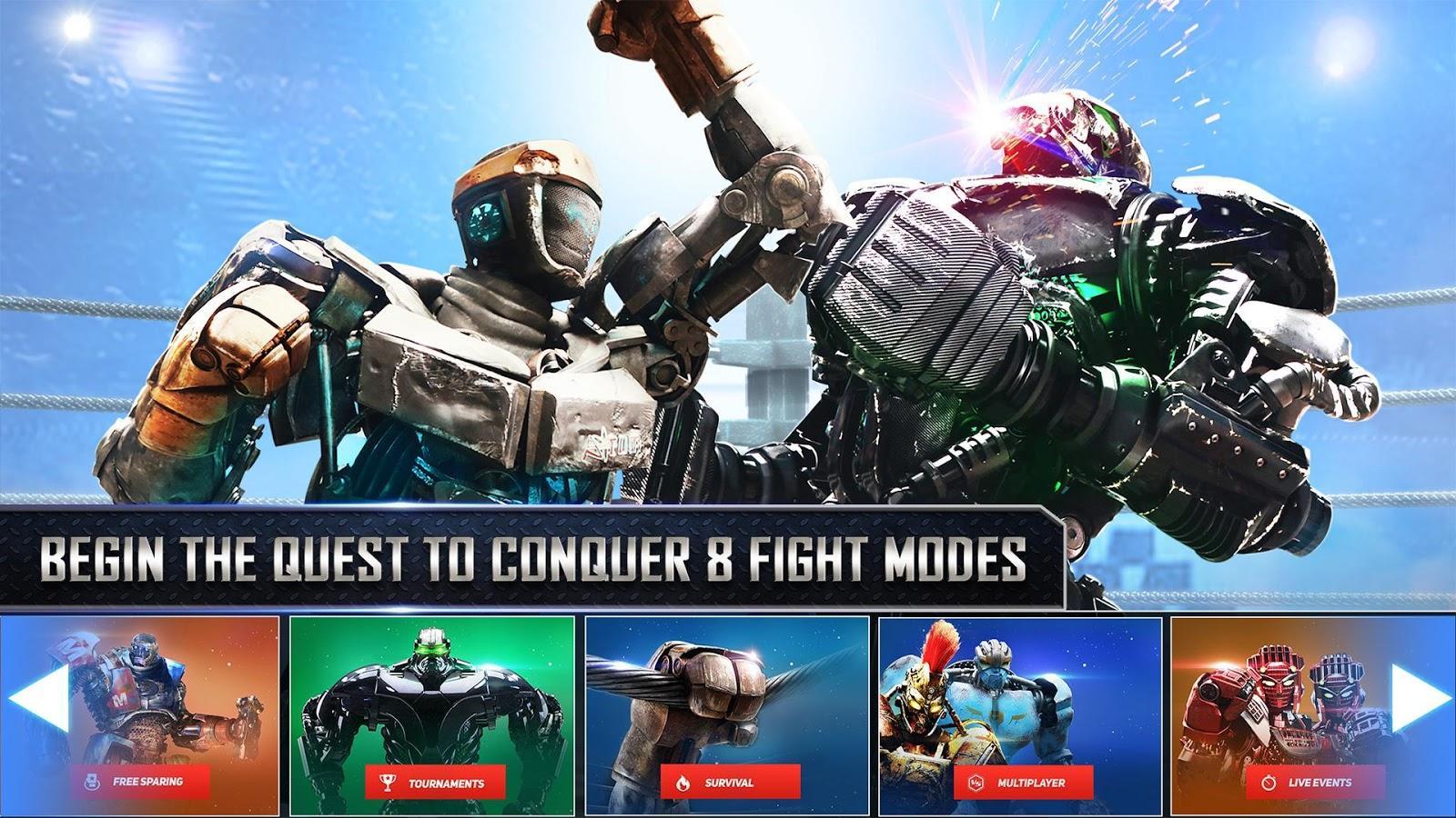 real – Скачать игры на андроид real steel world …