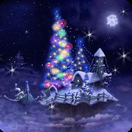 Christmas Snow Fantasy LWP