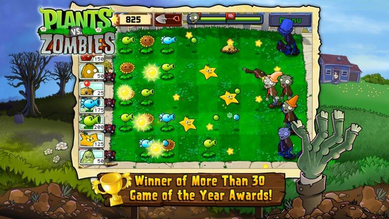 скачать игру растения против зомби много денег на андроид