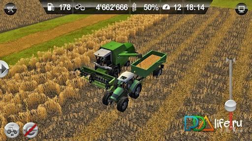 скачать игры на андроид фермер симулятор 2014 много денег