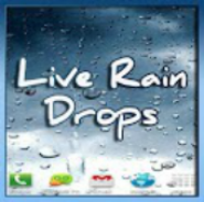 Rain Drops On Your Phone LWP
