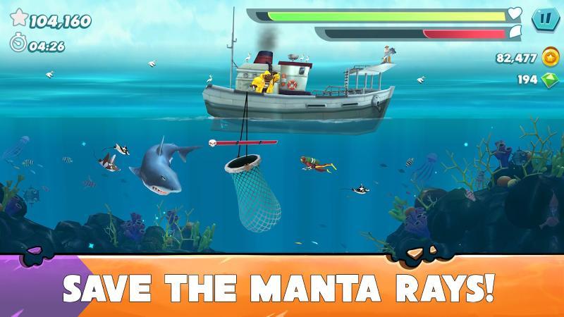 скачать игру акула мод на много денег