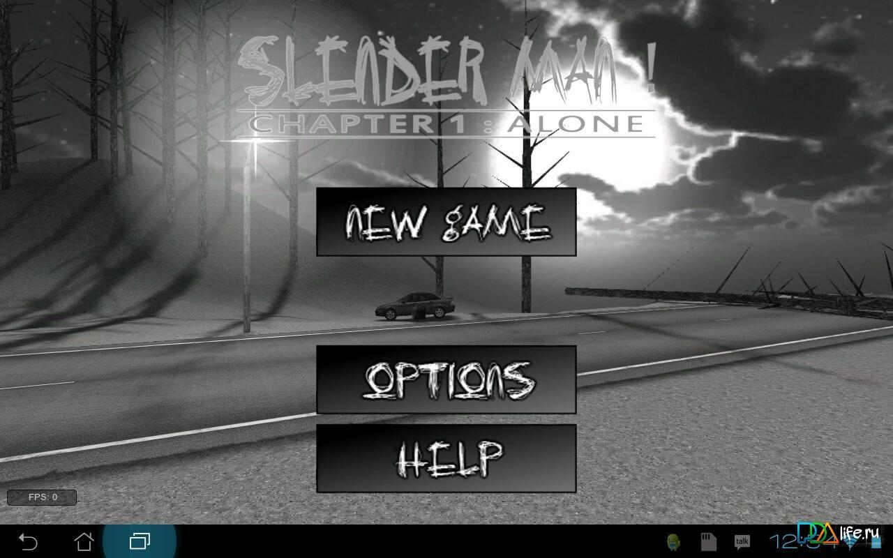 Slender man! Chapter 1: alone скачать 7. 04 на android.
