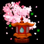 Sakura's Bridge Live Wallpaper