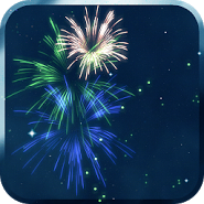 KF Fireworks Live Wallpaper