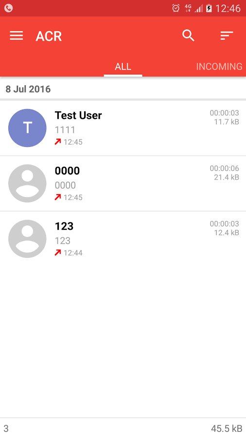 запись разговоров на андроид приложение