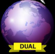 Purple Dual Browser