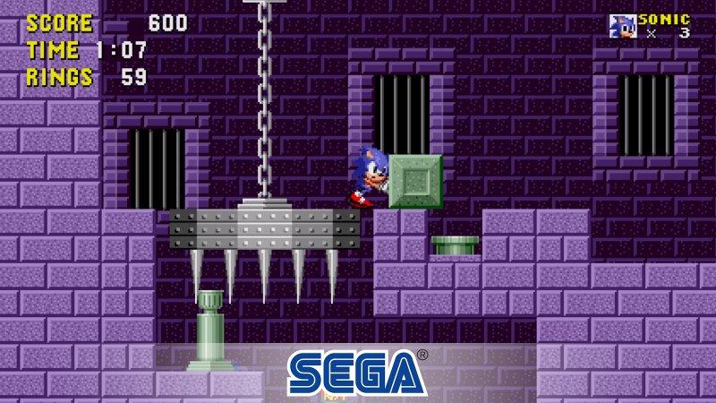 Sonic the Hedgehog Classic Screenshot