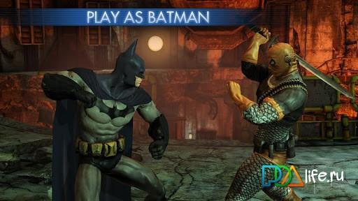 Batman: arkham city lockdown фантастические бои с вечными.
