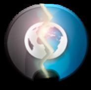 Animated widget on/off