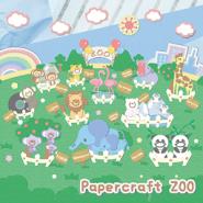 Papercraft ZOO Live Wallpaper