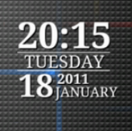 Nexus Clock Widget HD