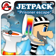 Jetpack prisoner escape