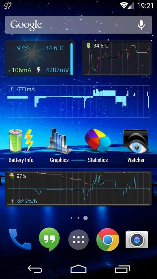 Currentwidget battery monitor на русском скачать