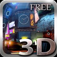 Futuristic City 3D lwp