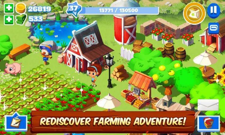 скачать игру зеленая ферма 2 на андроид много денег