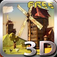 Paper Windmills 3D LWP