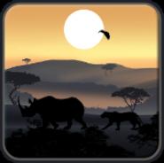 Африканский Закат Живые Обои