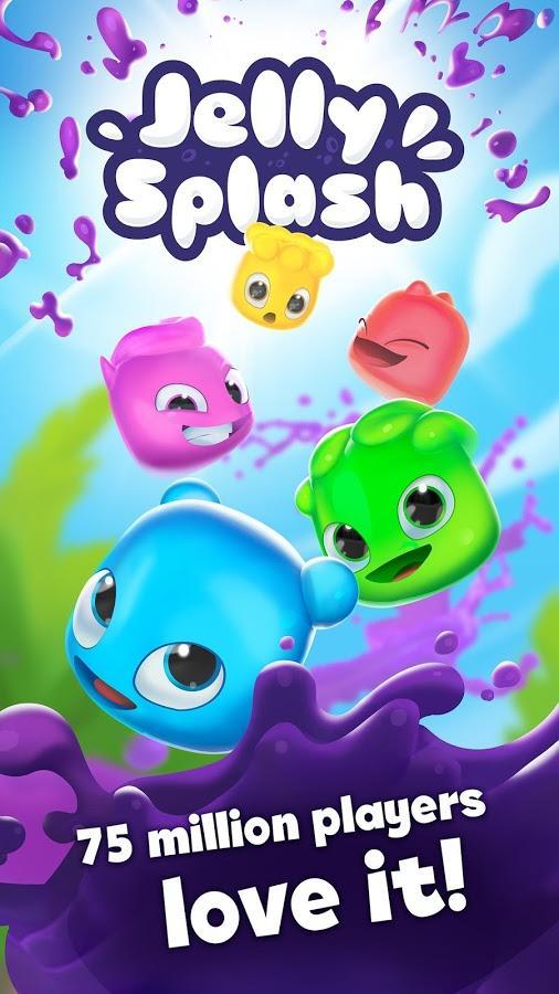 Jelly Splash на андроид - top-android.org