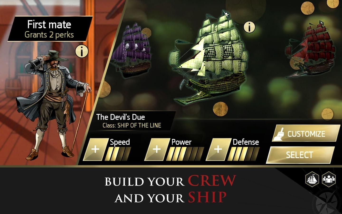 Assassin's Creed Pirates (MOD APK, Unlimited Money) v2.9.1 5