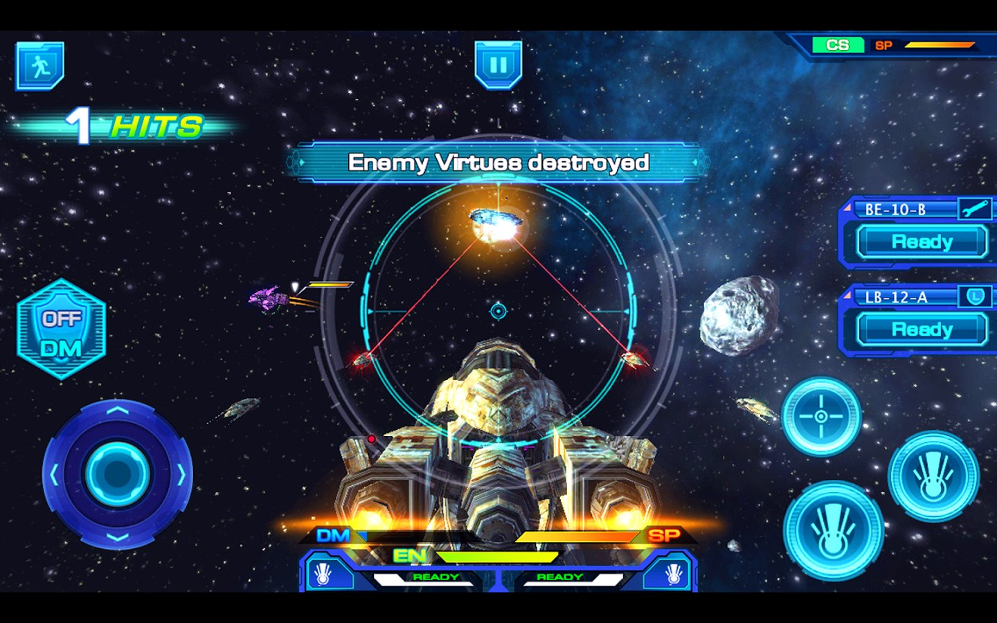 Galactic Phantasy Prelude Screenshot