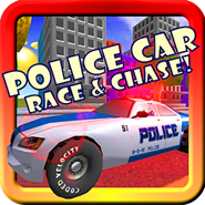 Police Car Race And Chase