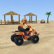 Безумная скорость: Пляжная мотогонка