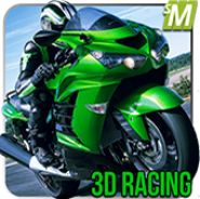 Motor Bike Racing Pizza 3d
