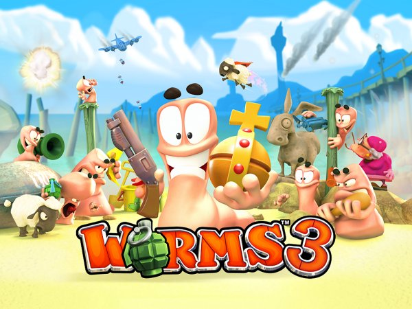 Worms 3 apk free download.