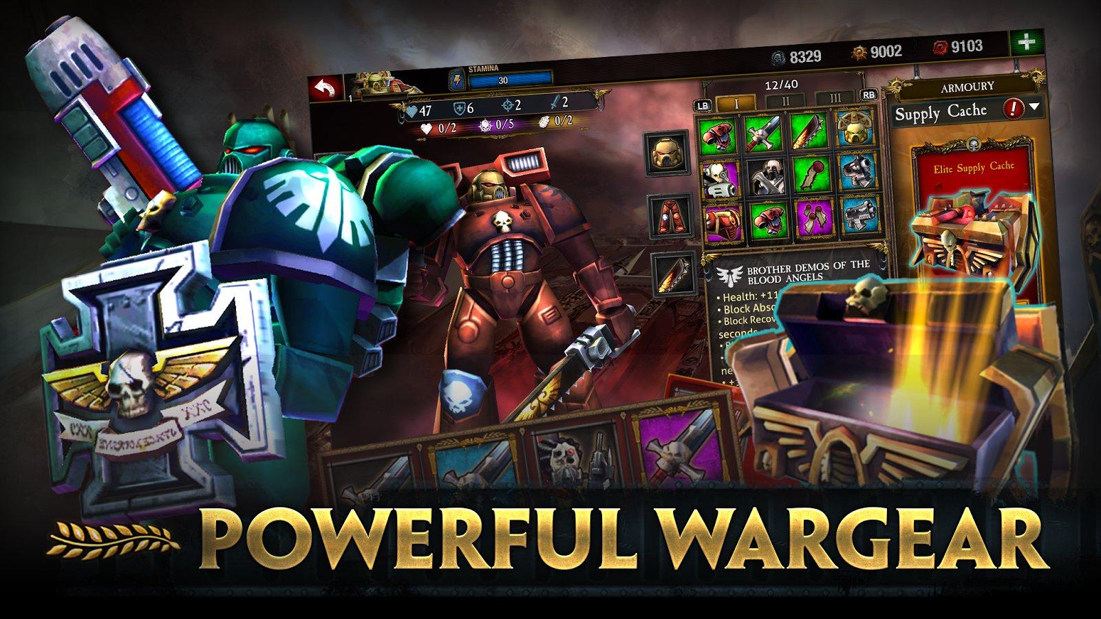Обзор Warhammer 40,000: Space Wolf для Android …
