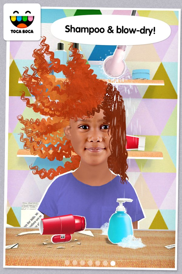 Toca hair salon me 1 0 android for Toca hair salon me