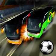 Soccer Team Bus Battle - Brazil Edition