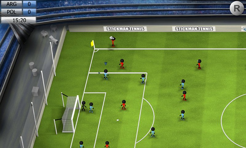 Stickman soccer 2014 скачать 2. 1 unlocked на android.