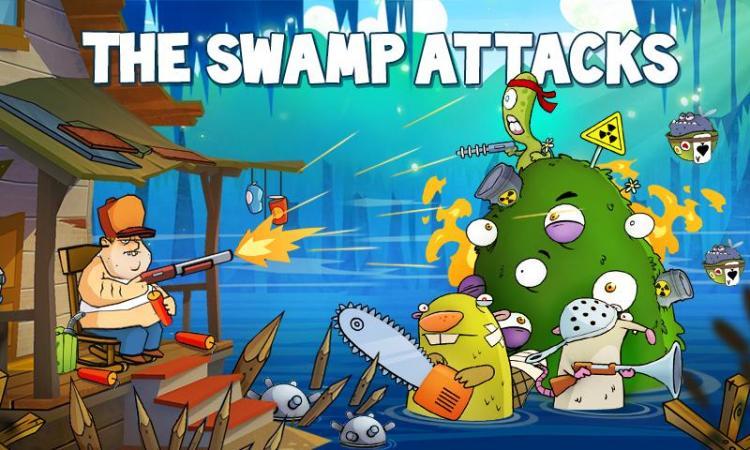 скачать игру swamp attack бесконечными деньгами