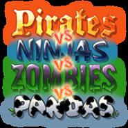Pirates vs. Ninjas vs. Zombies vs. Pandas HD