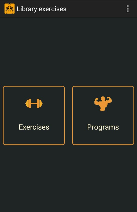 Приложение для андроид тренировки в зале