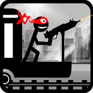 Stickman Train Shooting
