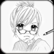 Учитесь рисовать аниме Манга