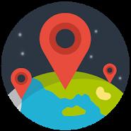 Checkin Friends Map / Карта чекинов друзей
