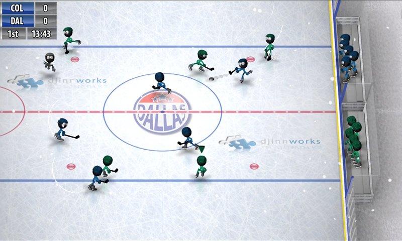 Stickman Ice Hockey Screenshot
