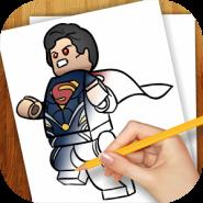 Рисуем Супергерои Лего