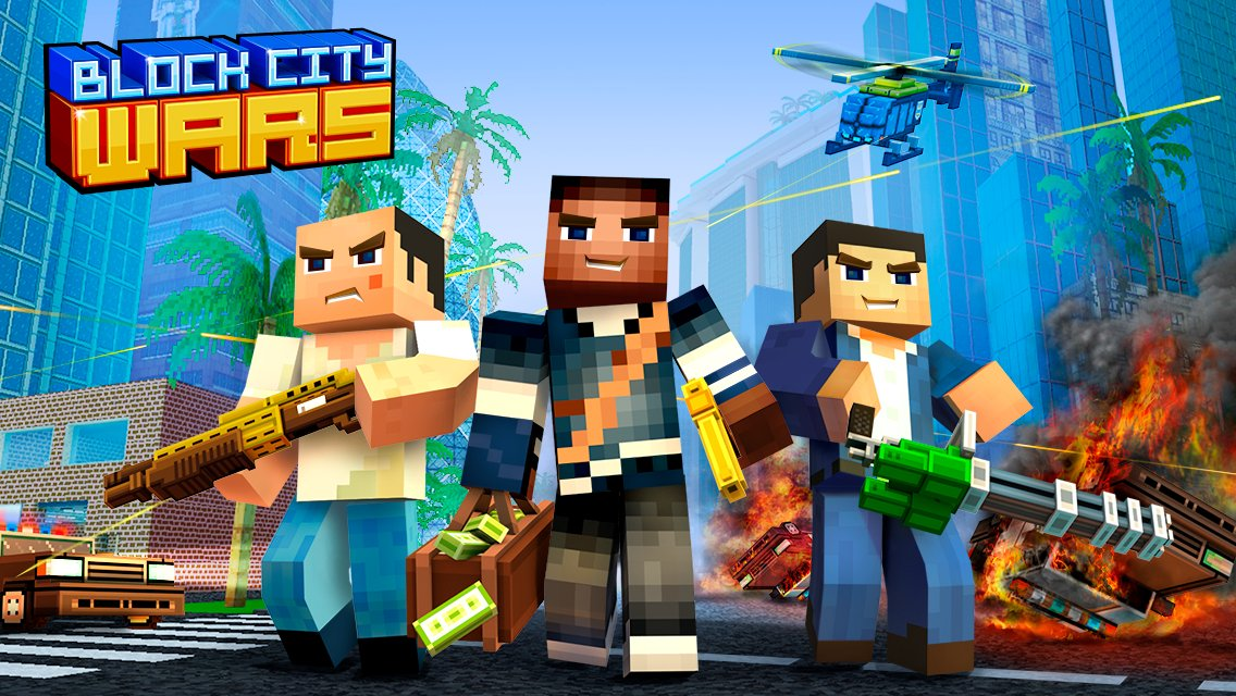 Download Block City Wars on PC with BlueStacks