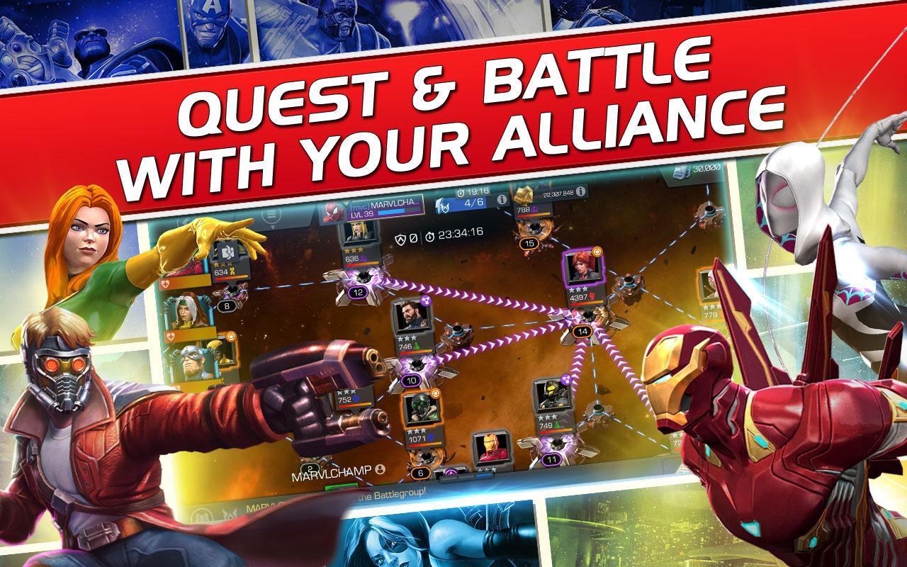 Marvel Битва чемпионов - Аркадный файтинг …