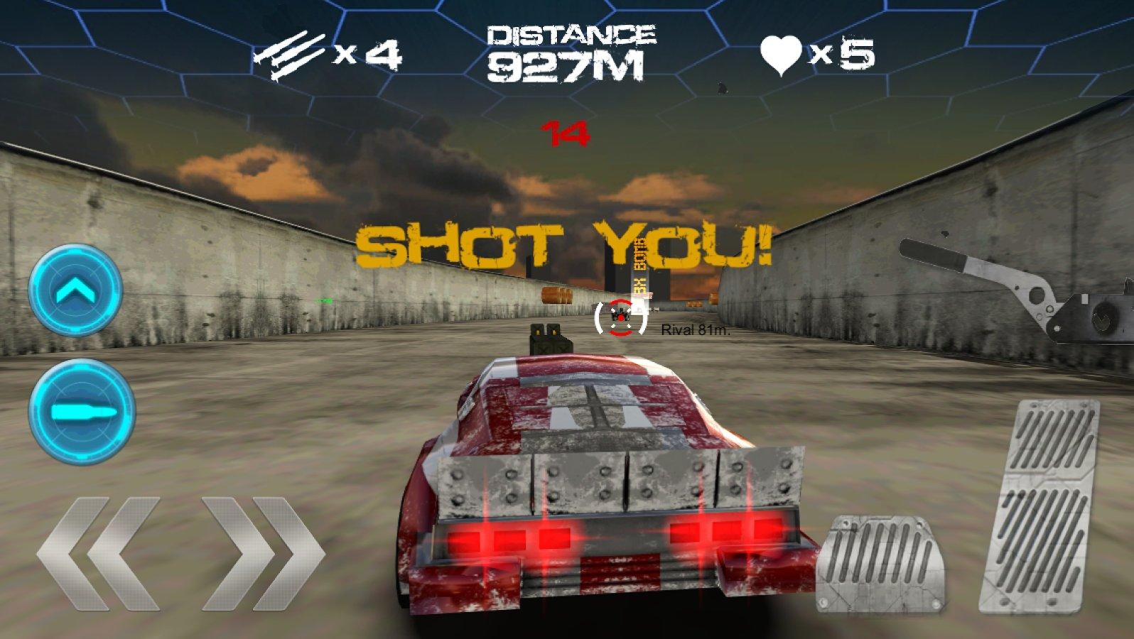 Скачать игру на пк гонки со стрельбой