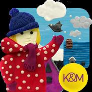 KM Winter town Live wallpaper